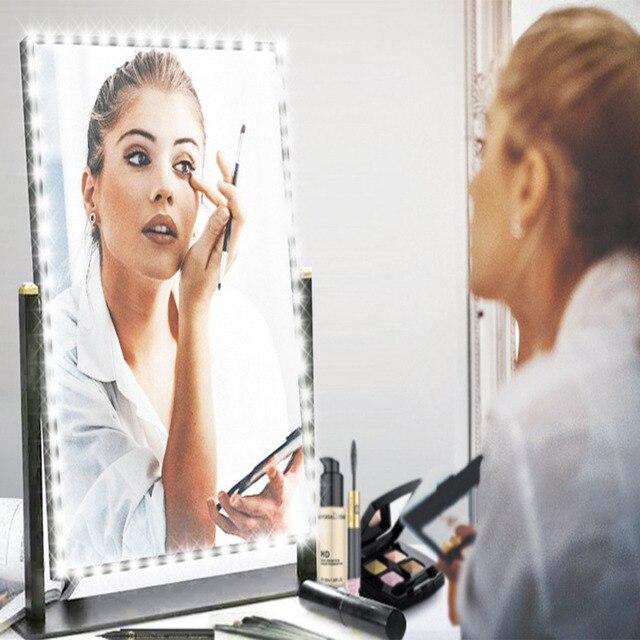 Led Vanity Mirror Lights Kit, Kohree 13ft/4M Make-up Vanity Mirror Light Strip for Makeup Vanity Table UL Certified Power Supply