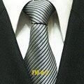 Lingyao 10 см новое поступление галстук людей свадьба встреч официальные галстук диагональные полосатый Gravata
