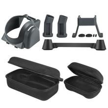 5in1 Drone Средства ухода за кожей и контроллер Футляр + объектив Защита от солнца Тенты + Шасси ноги extende для dji Мавик Pro Интимные аксессуары