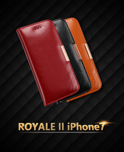 Крышка для iphone 5 s e 5S se 6 6s 7 плюс kalaideng сумка из натуральной кожи коровьей магнит карты стенд folio откидная крышка бумажник case мешок