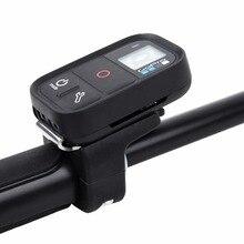 Gopro wifi 원격 제어 홀더 selfie 스틱 핸들 바 클립 튜브 버클 마운트 gopro 영웅 8 7 6 5 액션 카메라 액세서리
