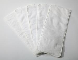 Image 2 - [Sigzagor]5 inserções de fraldas júnior para 2 7 anos de idade crianças grandes incontinência da criança desativar reutilizável pano fralda microfibra 3 camada