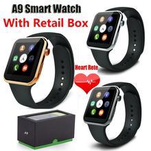 Smartwatches a9 bluetooth smart watch para apple iphone & samsung xiaomi huawei teléfono inteligente android inteligente reloj del relogio