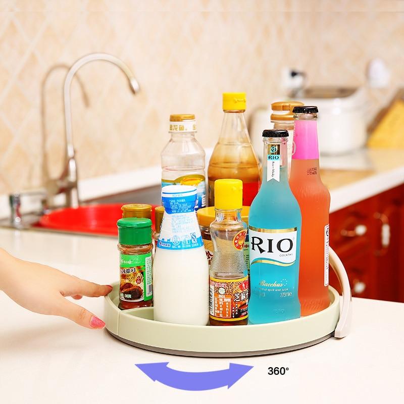 US $16.57 15% OFF|MAESUN Round Non Skip Cabinet Turntable Lazy Susans 11  Inch Kitchen Spice Rack Beverage Organizer Storage Holder-in Storage  Holders ...