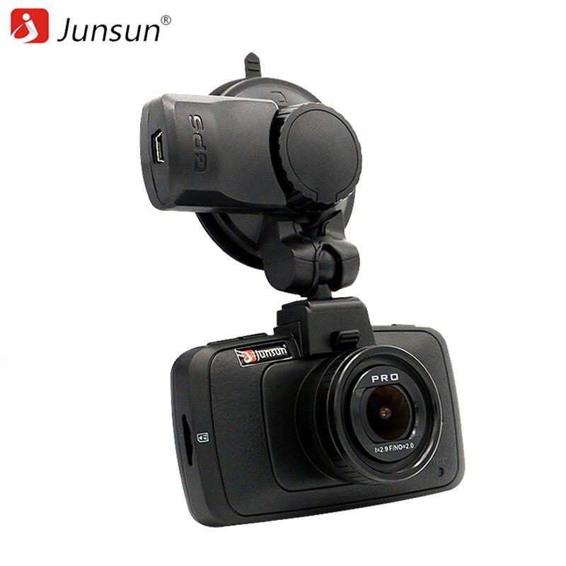 imágenes para Junsun A7LA70 Ambarella Cámara Del Coche DVR GPS con Radares Full HD 1080 p 60Fps de Vídeo Registrador Dash Cam Junsun A790