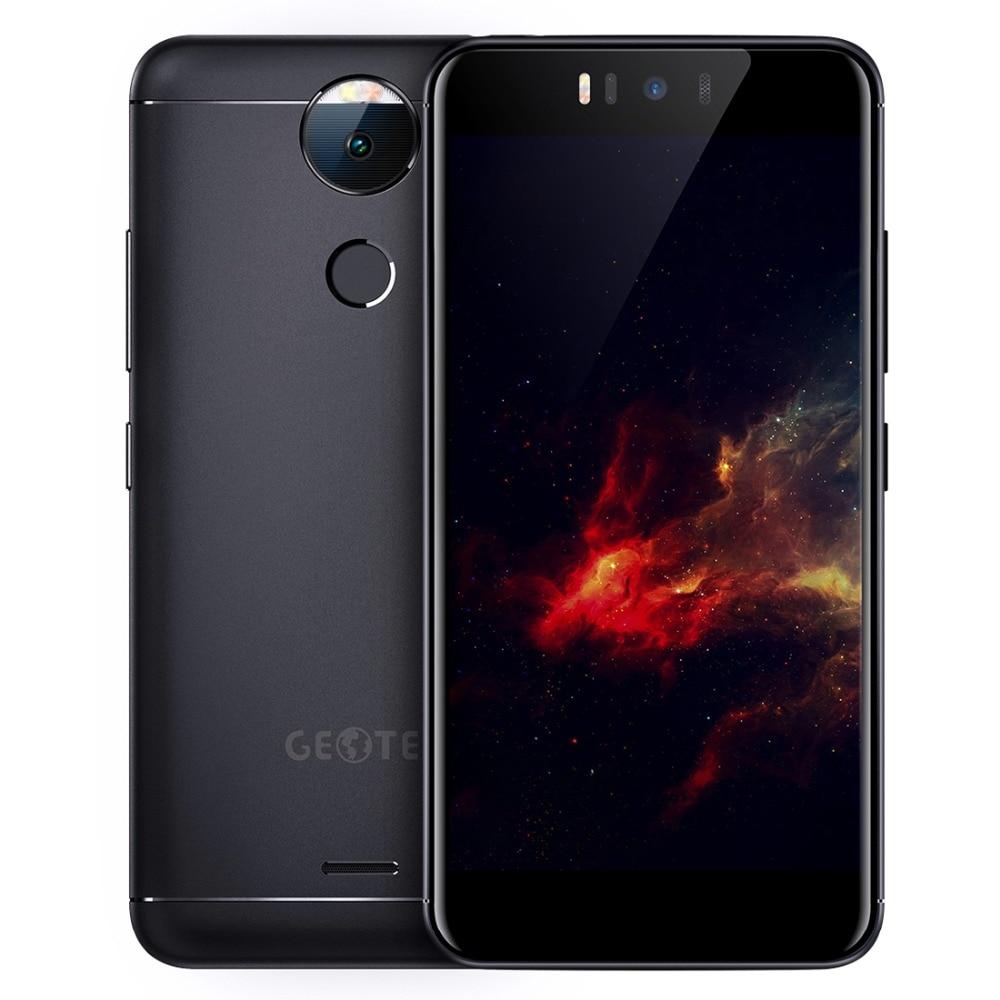 Original Geotel AMIGO 4G Mobile Phone Android 7.0 3GB RAM 32GB ROM MTK6753 Octa Core 720P 13MP Dual SIM 5.2 inch Cell Phones