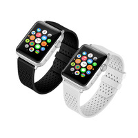 Silicone Strap Band For Apple Watch Iwatch 3 2 1 38 42 Mm Sport Bracelet Watchband