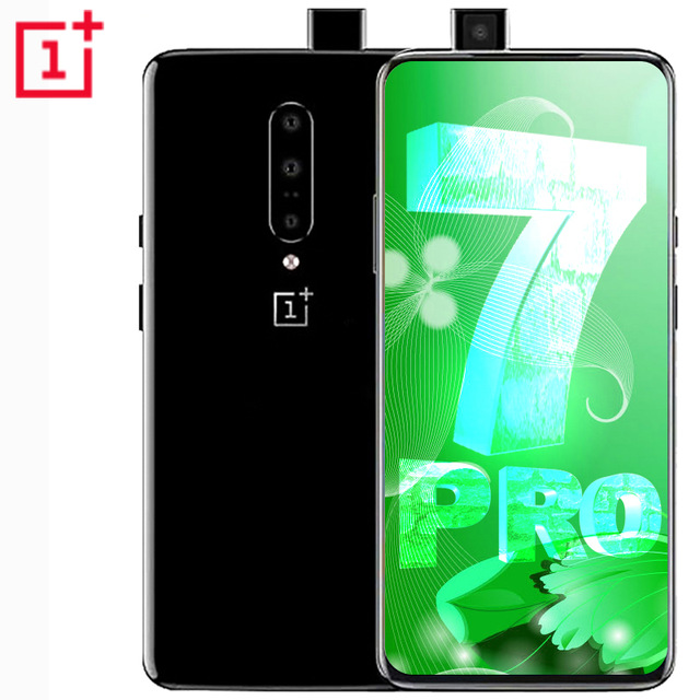 Global ROM Original Oneplus 7 PRO Oneplus 7 Smartphone 6.2'' 2340*1080P Android 9 Snapdragon 855 6G RAM 128G ROM Mobile Phone