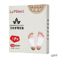 10pcs/box Nursing Foot Patches Pads Nourishing Repair Foot Patch Relieve Fatigue Improve Sleep Quality Slimming Patch Loss Weigh