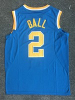 CANGSHI 2017 New Arrivals High Quality Embroidery UCLA 2 Lonzo Ball Basketball Jerseys For Men