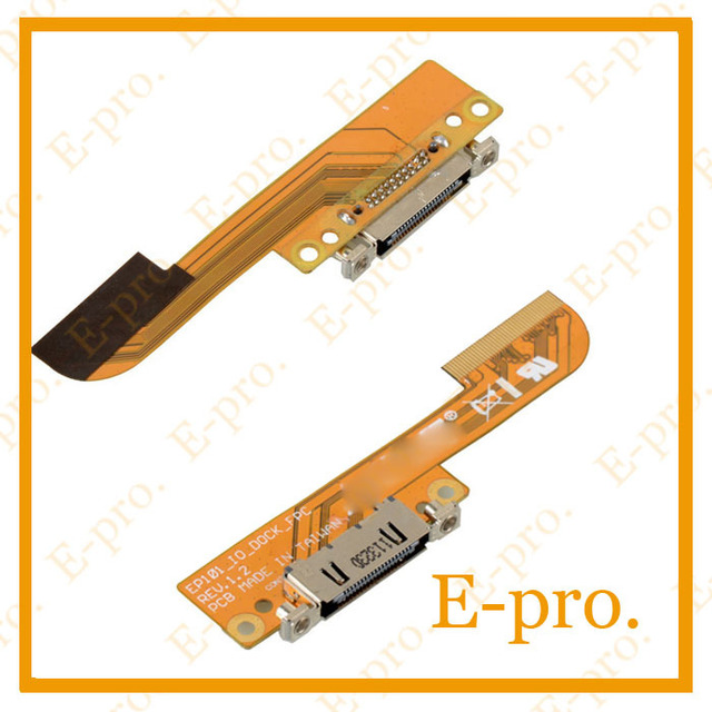New Charge Connector Port USB Flex Cable For ASUS Eee Pad TF101 D1544 T15 Charging Flex Cable Free Tracking No.
