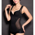 Womens Ladies Spring Body Shaper Sheath Slimming Corset Waist Cincher Trainer Tummy Shapewear Underwear Mesh Vest Tops Q1273