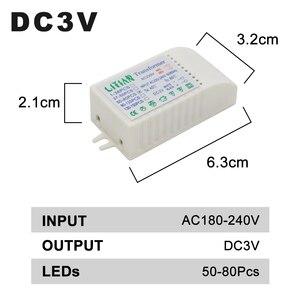 Image 4 - 1 80pcs Led Electronic Transformer 220V To DC3V Low Voltage LED Controller Power Supply LED Driver 15mA For Light Emitting Diode