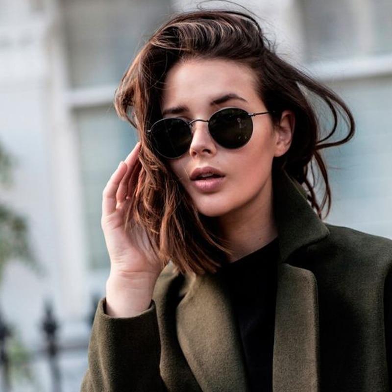 edd7b4b45f Dokly Designer Classic Round Sunglasses women Vintage Retro John Lennon  Glasses Women Driving Metal round Eyewear-in Sunglasses from Apparel  Accessories on ...