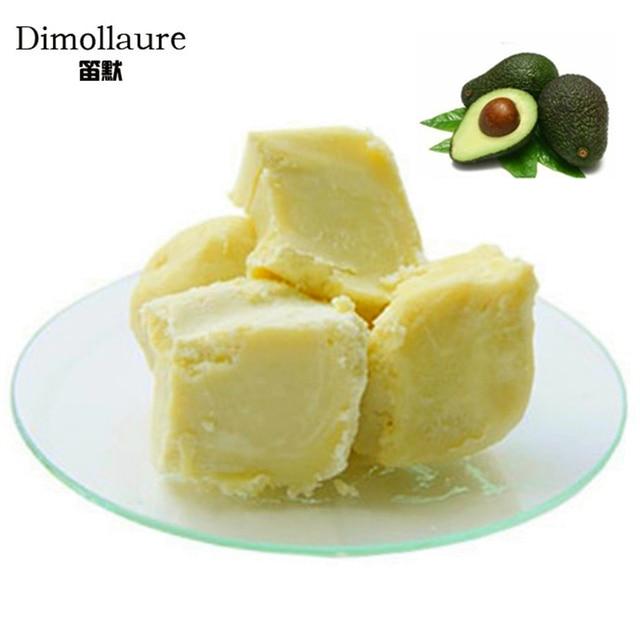 Dimollaure 50g-500g Organic Shea Butter Unrefined skin care hair care body massage oil DIY Base oil handmade soap Esential oil 1