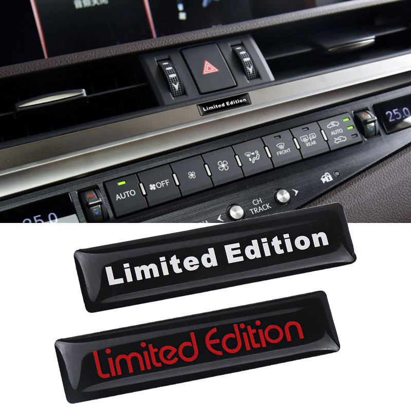 3D Limited Edition TSI Fender Tail Emblem Car <font><b>Sticker</b></font> Badge for <font><b>Volkswagen</b></font> Golf 4 5 3 POLO CC <font><b>Passat</b></font> <font><b>B5</b></font> B6 B7 Audi Suzuki Honda image