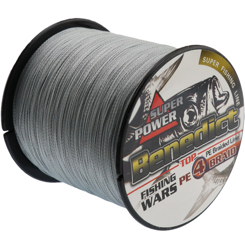500 მ ბრენდი 4strands Japan Multifilament 100% PE super ძლიერი Braided Fishing Line 0.1mm-0.48mm Fishing line on line for sale