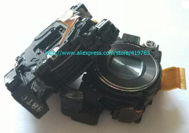 Объектив Zoom Блок Для SONY DSC-W120 DSC-W125 DSC-W130 W120 W125 W130 Digital Ремонт Камеры Части Черный НЕТ ПЗС
