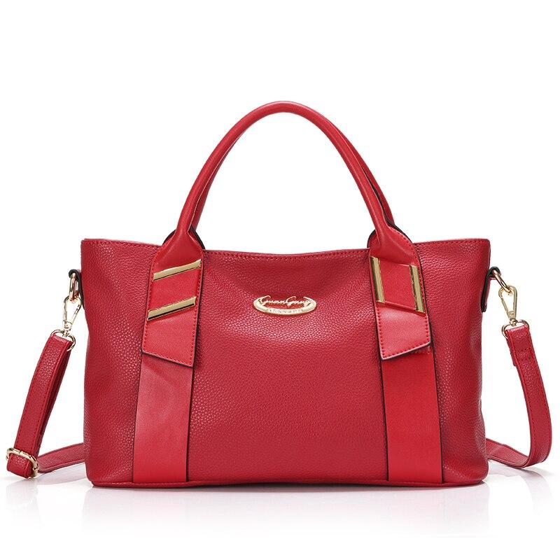 ФОТО Women Fashion Genuine Leather Handbags Messenger Shoulder Bags Large Shopping Totes Elegant  Fashion Famous Brand style bolsas