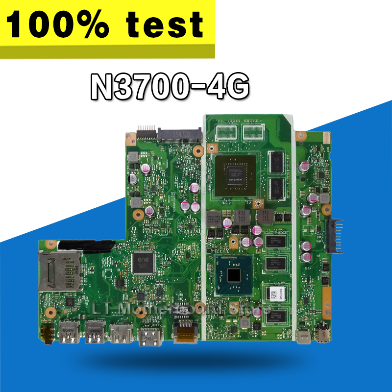 цена на X540SC MB._4G/N3700 V1G 90NB0B20-R00020 motherboard For Asus X540S X540SC Laptop motherboard Mainboard
