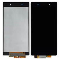 10pcs 5 Inch Black Touch Screen For Sony Xperia Z1 L39h LCD C6902 C6903 C6906 Display