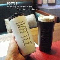 창조적 인 아침 홈 세라믹 화이트 커피 컵 마크 쉽게 휴대용 사무실 물 유리 커버