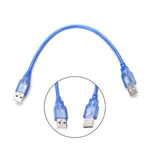 Image 3 - 0.3m USB 2.0 A erkek AM USB 2.0 B tipi erkek uzatma yazıcı tel kablo
