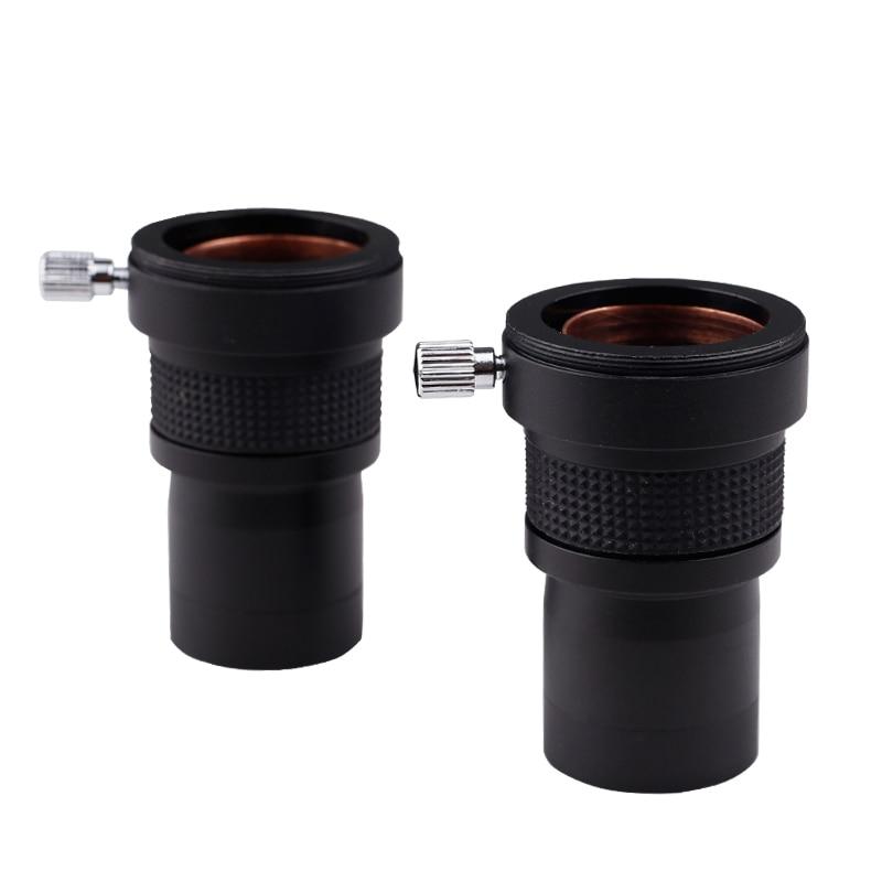 Линза для окуляра Datyson 2x, металлическая линза с увеличением 2x, полностью многослойная, 1,25 дюйма, с резьбой M42, для окуляра телескопа