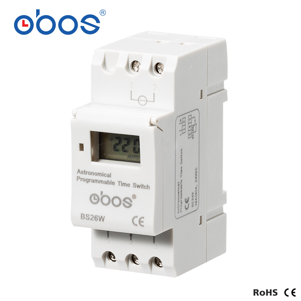 Image 3 - Astronomical Programmable time switch BS26W AC220V Programmable Digital Timer switch 16A Voltage selectable AC110V DC12V DC24V-in Timers from Tools