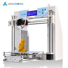 JGAurora Высокая Точность Обновляется Металлический Каркас DIY Kit 3d-принтер с 1 КГ Нити Бесплатная доставка