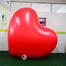 Dia dos namorados hospital festa de ação de graças publicidade pvc coração inflável