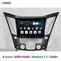 Lenvio RAM 2GB 32GB Octa Core Android 7 1 CAR Radio GPS Navigation For Hyundai Sonata