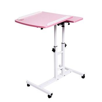 складной стол  складной компьютерный стол 64*40 см регулируемый портативный ноутбук повернуть столик для ноутбука может быть поднят стоя