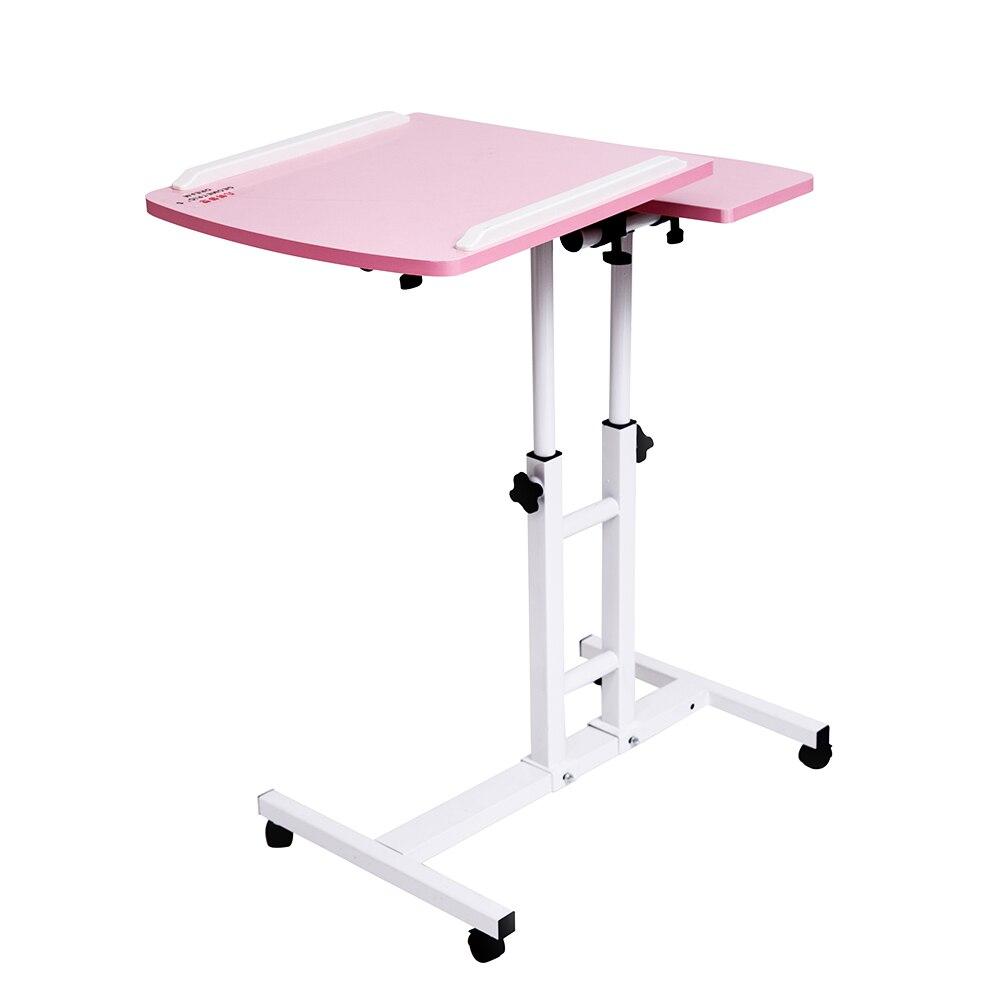 2018 Pliable Table D'ordinateur 64*40 cm Réglable Bureau D'ordinateur Portable Rotation Table de Lit Pour Ordinateur Portable Peut être Soulevé Debout bureau
