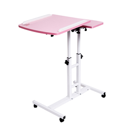 2018 plegable mesa de computadora 64*40 CM, ajustable portátil de escritorio girar mesa de cama para ordenador puede ser levantado Escritorio de pie