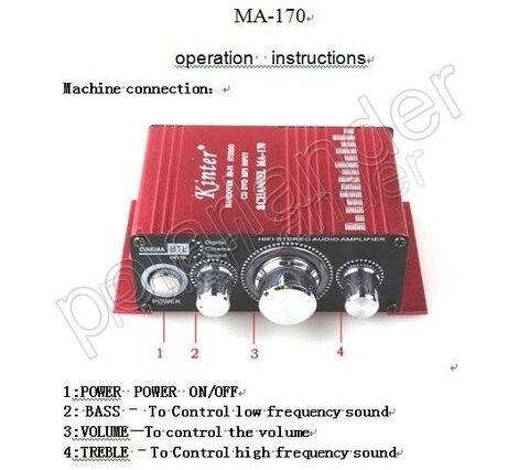 cheap amplificadores multicanal