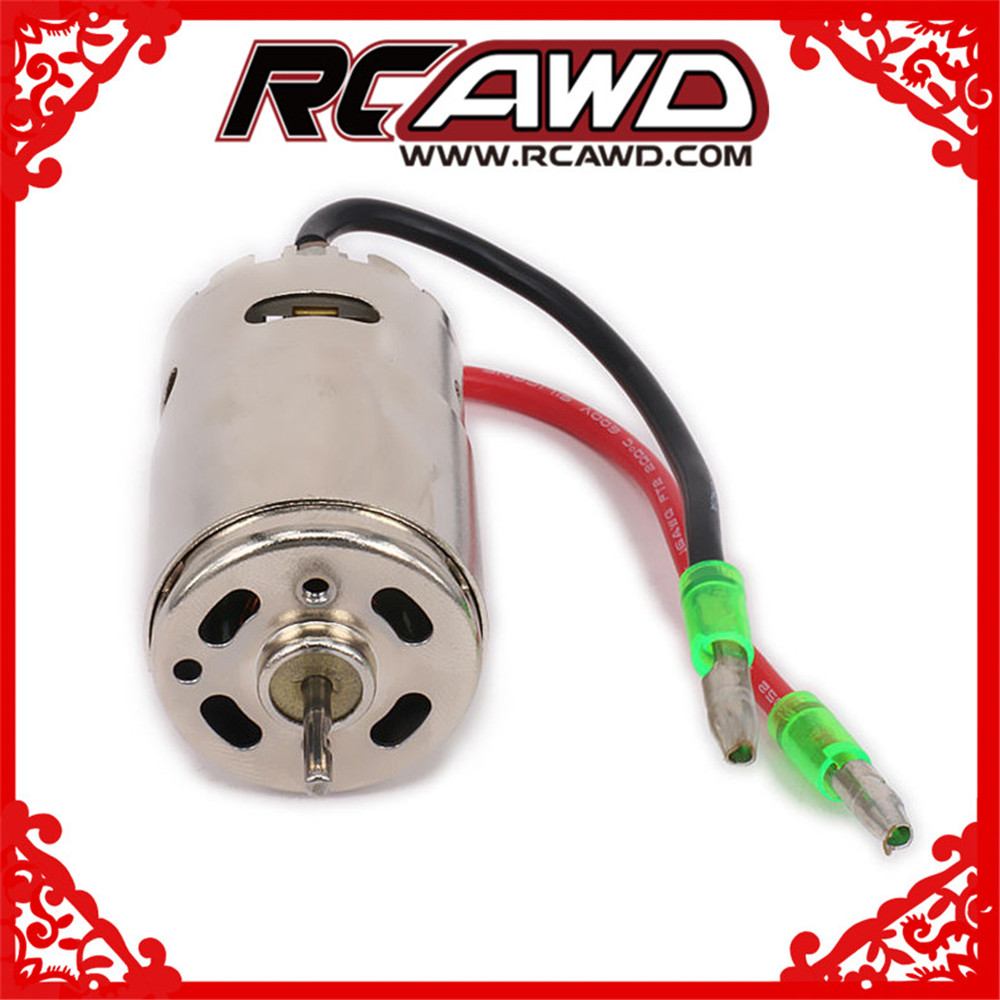 390 Electric Brushed Motor For 1-16 1-18 RC Car Boat Airplane HSP Hi Speed Wltoys Tamiya Truck Buggy