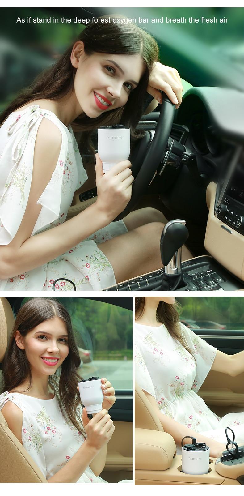 Car Aroma Cup Car Humidifier Car Charger Aroma Diffuser Car Energy Cup Car Air Purifier  (8)