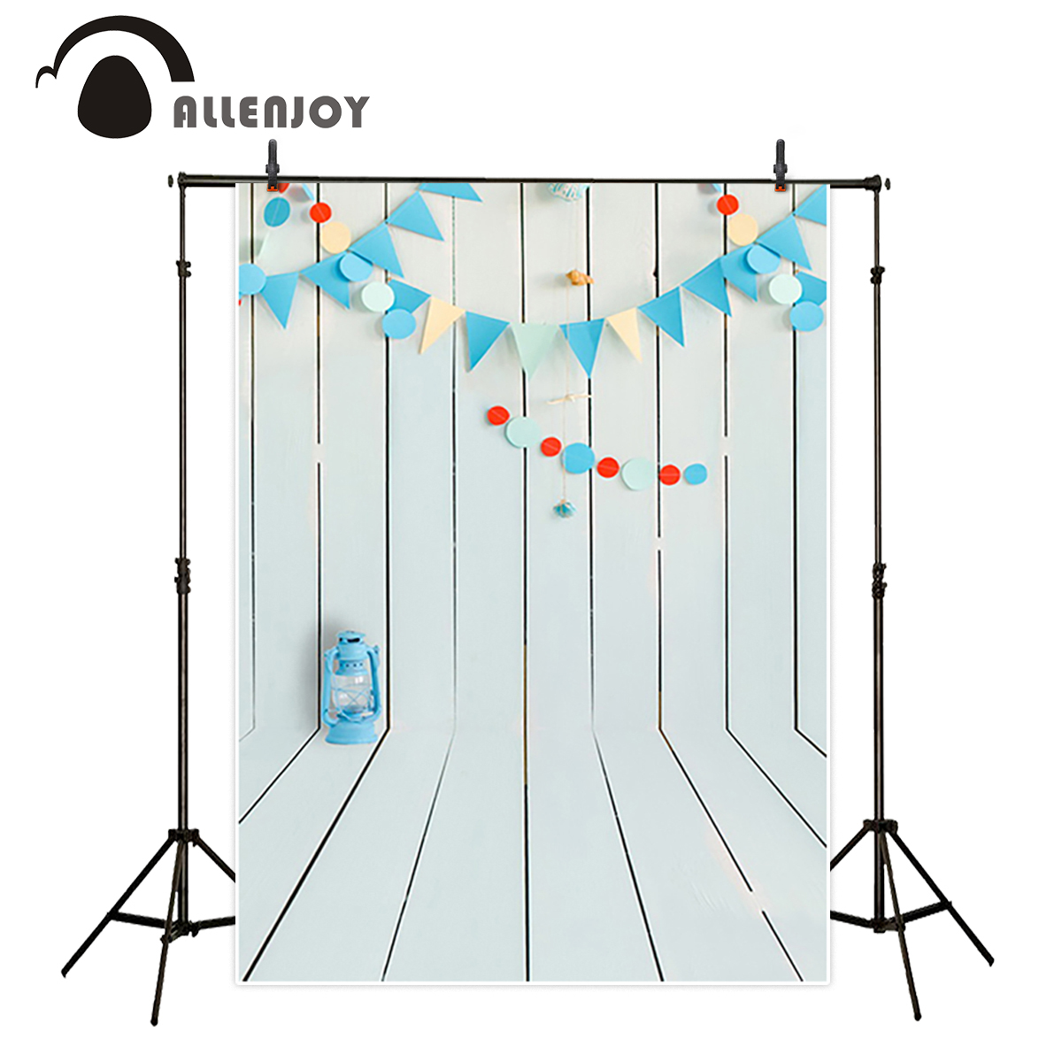 Allenjoy studio Photo background vintage colorful flags birthday blue floor photocall vinyl backdrops for photography allenjoy photography backdrops floor mosaic school blackboard kids vinyl photocall photographic studio computer printing lovely