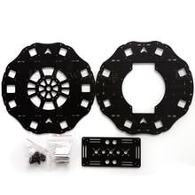 700-1050mm Wheelbase Octacopter Frame Carbon Fiber Center Plate+ Battery Mounting Plate X8-1050 V2