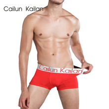CAILUN KAILAN Shorts Mens 3Pcs\lot Underwear Soft Boxers Cotton Boxer Men Solid Boxer Shorts Plus Size Boxers Mens Underwear Lo гиффорд б любовный поединок роман