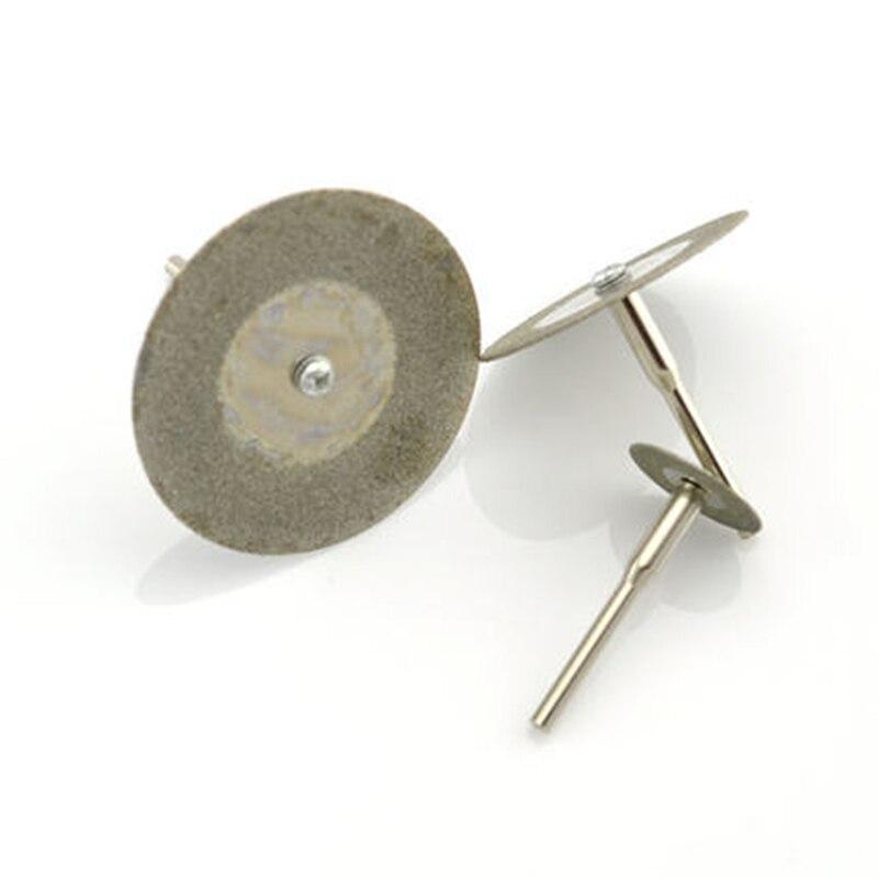 diamond grinding wheel bit diamond cutting disc dremel accessories mini saw blade set rotary tool grinding polishing stone in Abrasives from Tools
