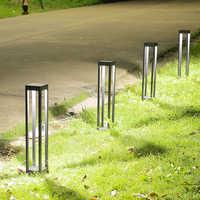220 v 110 v moderno IP44 Decoración LED impermeable al aire libre luces de césped lámparas para jardín patio trasero de la calle
