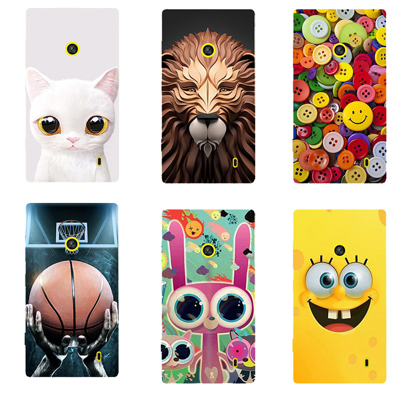 New Fashion Case for Nokia Lumia 520 521 525 526 Case Heros Printed Ultra Thin Cell Phone Cases Fundas Mobile Back Cover Capa