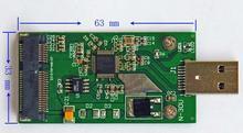 USB 3 до mSATA адаптера mSATA USB 3 твердотельный диск адаптера