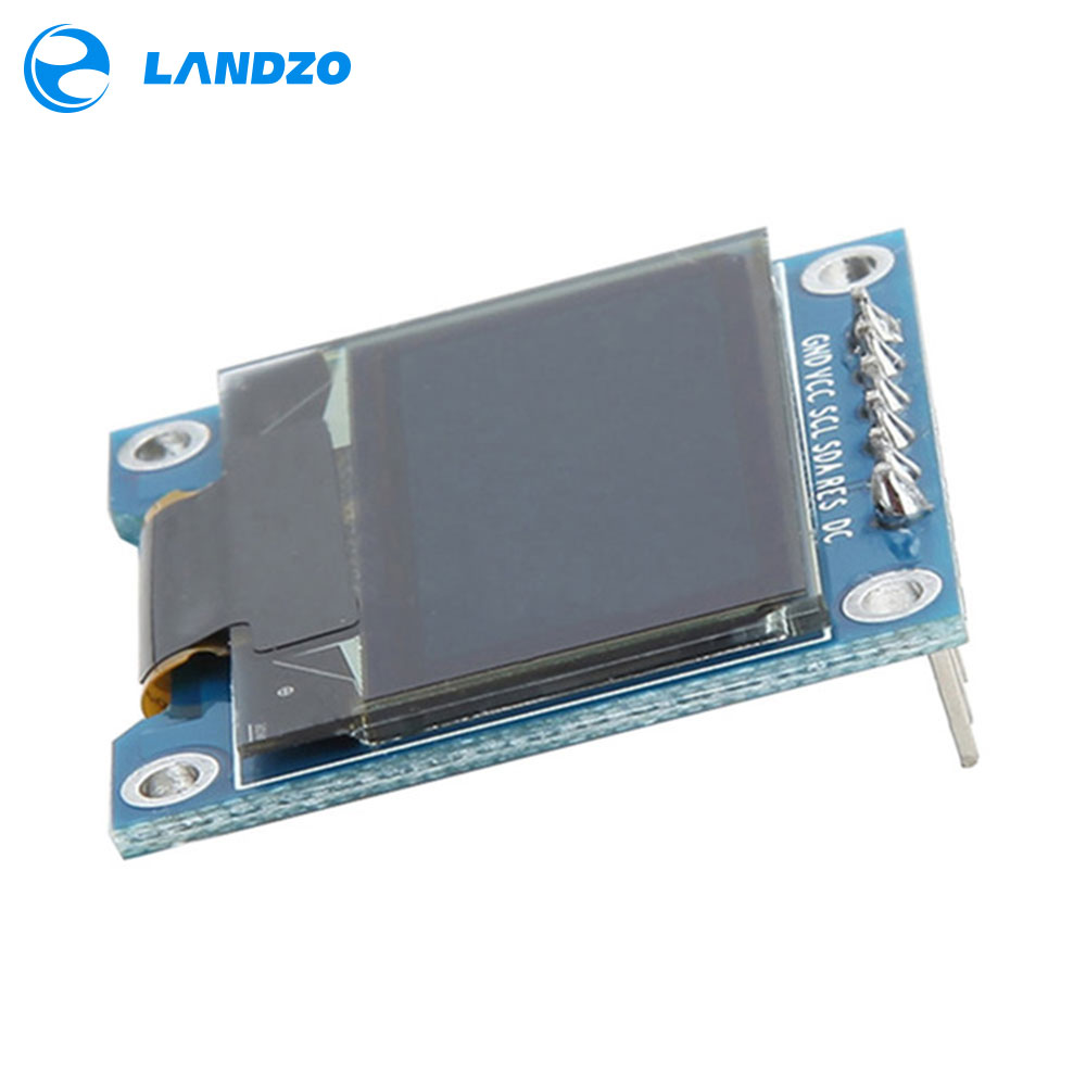 Electronic Kit Circuit Board 0.96 Inch SPI OLED Display Module 12864 LED 2.7 X 2.8cm Resolution 128 X 64