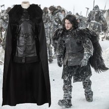 Thrones Jon Snow Halloween Polyester Fancy Suit For Man