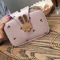 Новая Мода Девушки Сумка Лето симпатичные Печати Небольшой Цепь Сумка Женская petite sac сцепления Crossbody сумка bolsa