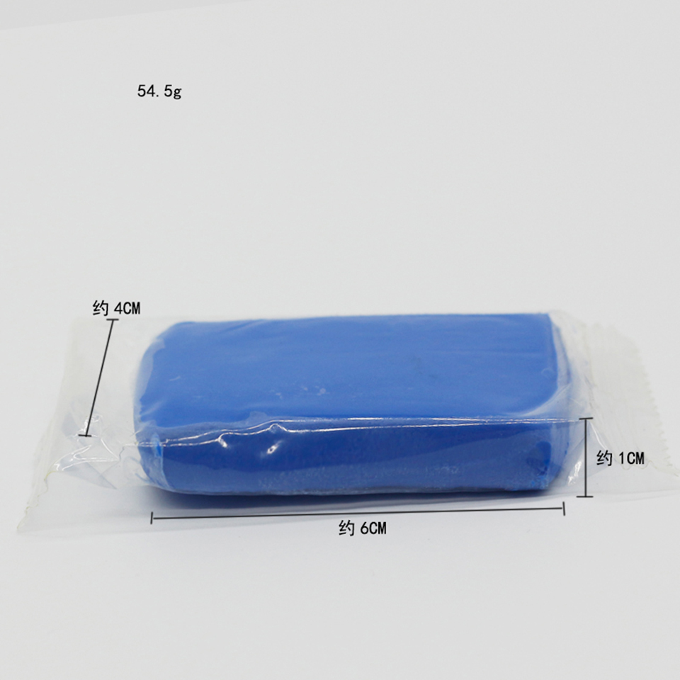 Image 2 - Super Clean 8.2*4.9*2.5cm Car Wash Sludge Blue Clay Bar Car Clean Sludge MO 604-in Paint Cleaner from Automobiles & Motorcycles