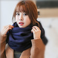 [Ode To Joy] New Fashion Unisex Women Men's Winter Knitted solid cashmere Circle Loop  Infinity Scarf Snood Scarves Wraps